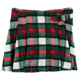 Carter's plaid holiday skirt